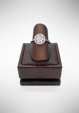Crivelli ring with diamonds CRV2819