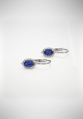 Crivelli earrings with diamonds and sapphires CRV4719