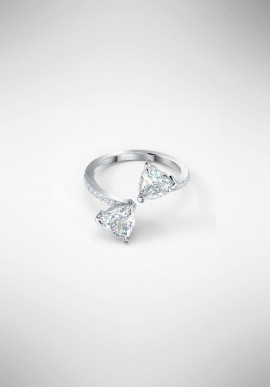 Swarovski Attract Soul Heart Ring 5512854