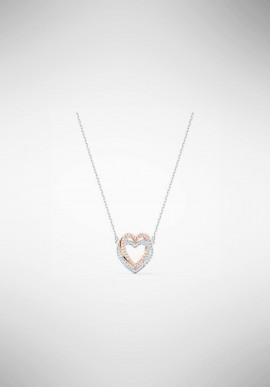 Swarovski Infnity Double Heart Necklace 5518868