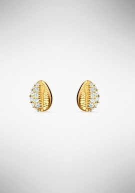 Swarovski Stud Shell Earrings 5520471