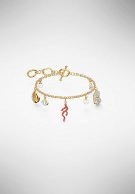 Swarovski Shell Coral Bracelet 5520673