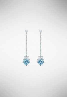 Swarovski Sparkling Linear Earrings 5524138