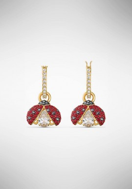 Swarovski Sparkling Dance Ladybug Earrings 5537490