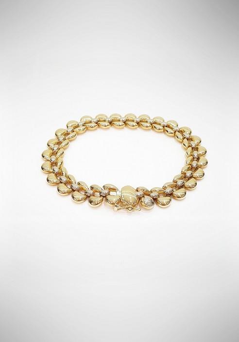Nanis double face 18KT Gold Bracelet B12-285