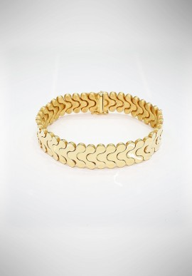 Nanis double face 18KT Gold Bracelet BA2-11