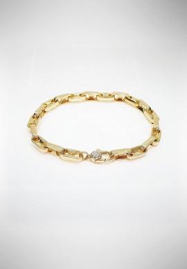 Chimento gold Bracelet with diamond 1B02531ZB1200