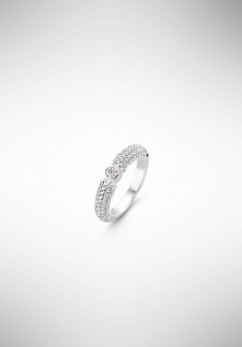 TI SENTO silver ring 2166ZI.56