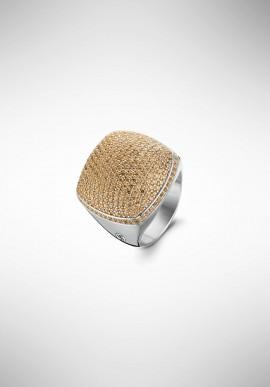 TI SENTO silver ring 1929ZC.58