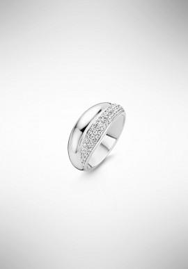 TI SENTO silver ring 12054ZI.56