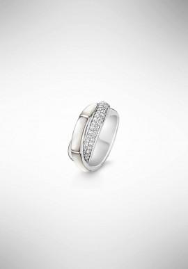 TI SENTO silver ring 12095MW.56