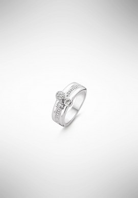 TI SENTO silver ring 12169ZI.56
