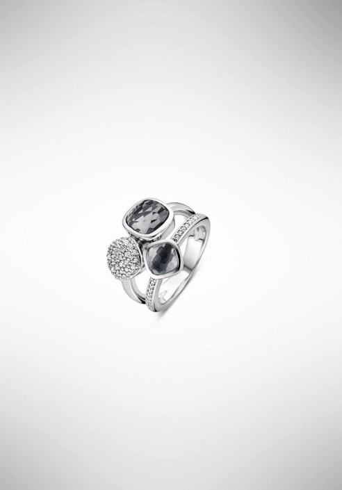 TI SENTO silver ring 12182GB.56