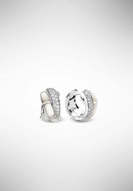 TI SENTO silver earrings 7755MW