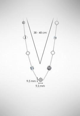 TI SENTO silver necklace 3930BG.42