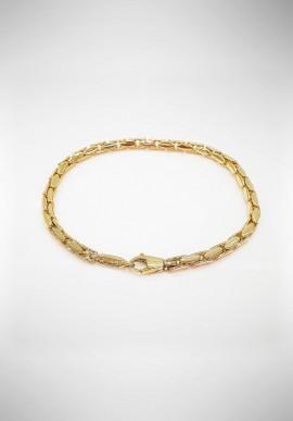 Chimento gold bracelet with diamonds 1B02679ZZ1190