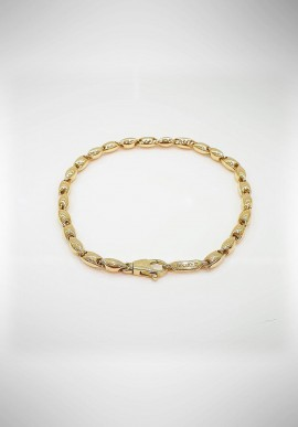 Chimento gold bracelet with diamonds 1B02522ZZ1200