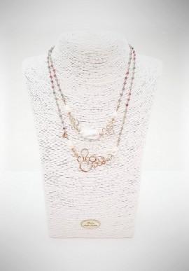 Luisa Della Salda silver necklace A1382IVM
