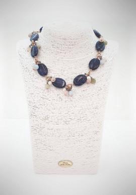 Luisa Della Salda silver necklace B0458GDB