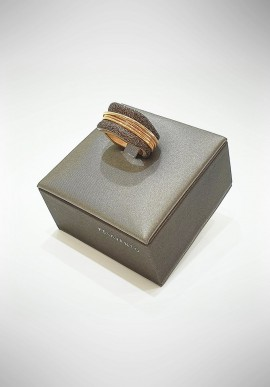 Marcello Pane silver ring Venice collection ANMP1018