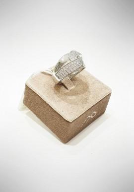 Marcello Pane silver bracelet Twist collection BRFO067