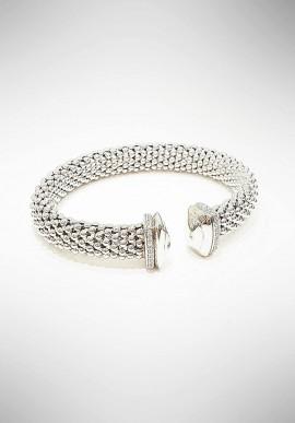 Marcello Pane silver bracelet Essential collection BRIT014