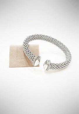 Marcello Pane silver bracelet Essential collection BRLO001