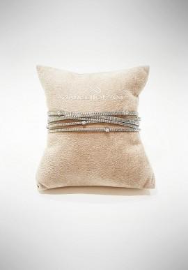 Marcello Pane silver bracelet Essential collection BRLO002