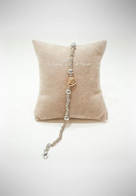 Marcello Pane Essential collection silver bracelet BRLO001