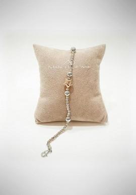 Marcello Pane silver bracelet Venice collection BRMP1008