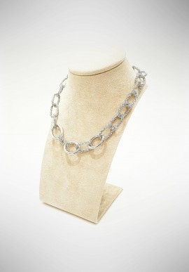 Marcello Pane silver earrings Venice collection ORCS001