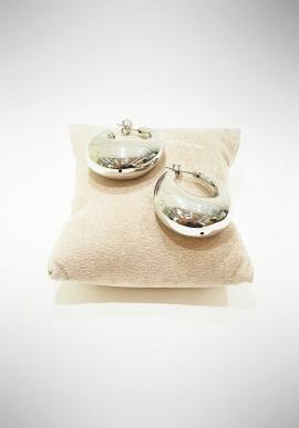Marcello Pane silver earrings Venice collection ORMP1004