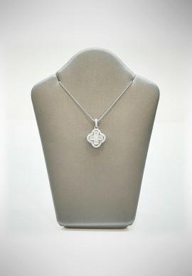Crivelli white gold necklace with brilliants CRV6010