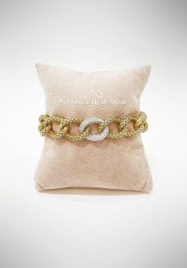 Marcello Pane Silver bracelet Classique collection BRCLB085