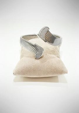 Marcello Pane silver bracelet Twist collection BRCL091