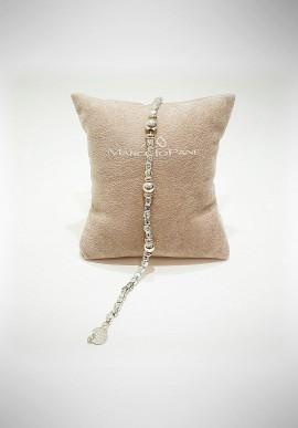 Marcello Pane silver bracelet Essential collection BRTZ009