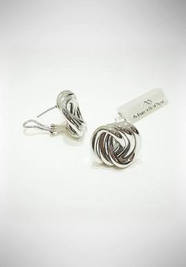 Marcello Pane silver earrings Venice collection ORSC002