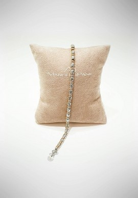 Marcello Pane silver bracelet Essential collection BRIT019
