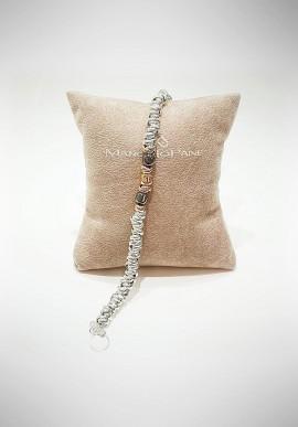 Marcello Pane silver bracelet Essential collection BRTZ012