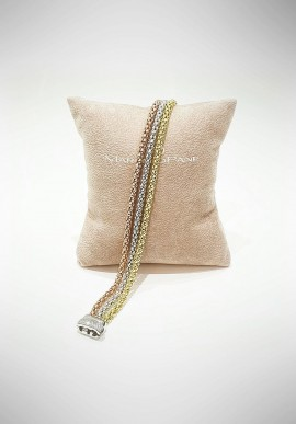 Marcello Pane silver bracelet Essential collection BRFO123