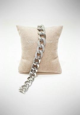 Marcello Pane silver bracelet Classique collection BRYA002