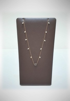 Pesavento silver necklace DNA collection WDNAE631