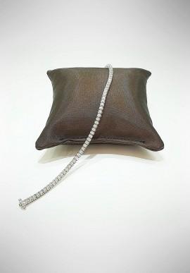 World Diamond Group white gold Tennis bracelet with diamonds BTQ060D19