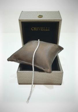 Crivelli white gold Tennis bracelet with diamonds CRV2112