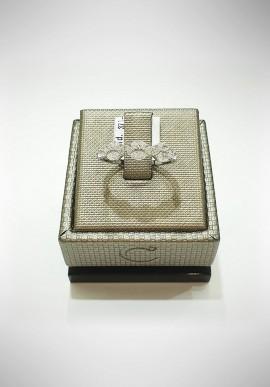 Crivelli white gold ring with diamonds CRV2120