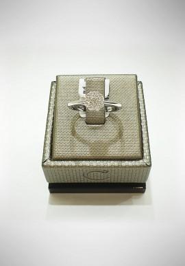 Crivelli white gold ring with diamonds CRV2121