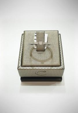Crivelli white gold ring with diamonds CRV2122