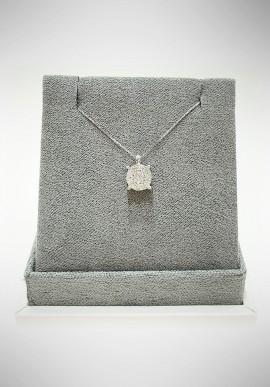 Lunatica white gold neckalce with diamonds LNT06