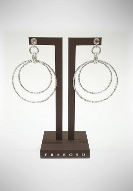 Fraboso 925 silver earrings FBS06