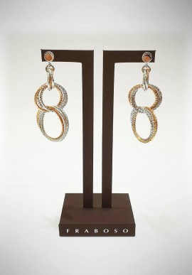 Fraboso 925 silver earrings FBS08